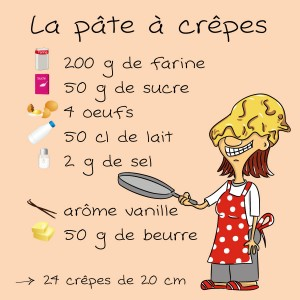 crepes sucres